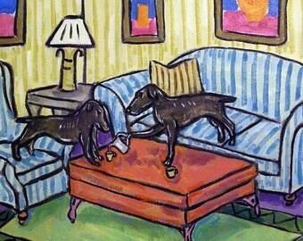 25% off Labrador Retriever Tea Time DOg Art Tile Coaster