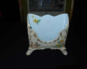 Hand Painted Desk Note Holder