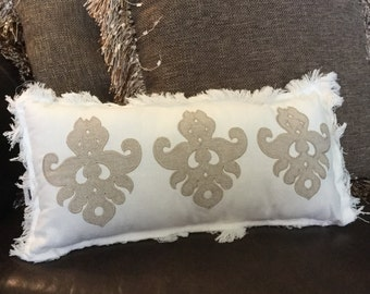"""New Couch Pillow Measures 10"""" wide x 19"""" Long just your style!  Decor/Gift/Unique Design"""