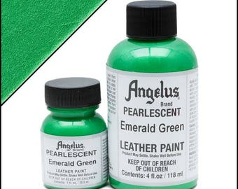 Angelus Pearlescent Paint Emerald Green