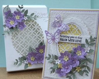 Lilac & Lemon Card