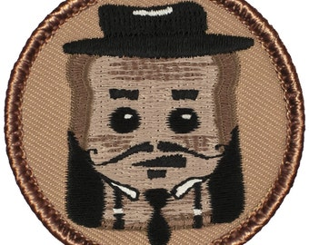 French Toast Patch (770) 2 Inch Diameter Embroidered Patch