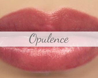 "Mineral Lipstick Sample - ""Opulence"" sheer berry pink lip tint - all natural makeup"