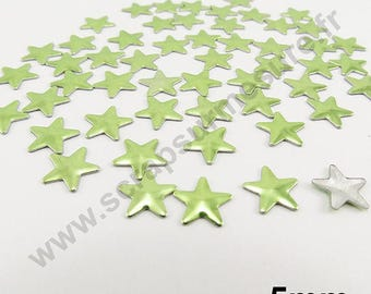 Star Thermo - Apple green - 5mm - x 100pcs
