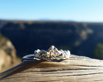 Mountain Range ring, mountain ring, Cascade, Rocky Mountains, Appalachian, Sierra Nevada, rugged ring, outdoors, wilderness