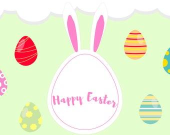 Easter day eggs
