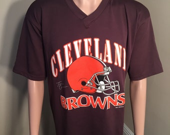 Cleveland Browns Jersey Shirt // Vintage mesh Jersey material // adult size Large L // Tim Couch // Cleveland Browns tshirt