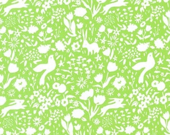 Fabric by the Yard -- Sommer Garden Shadow in Meadow by Sarah Jane for Michael Miller Fabrics