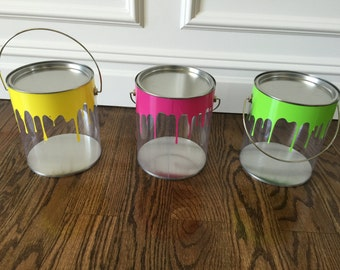 Set of 3 Paint Cans