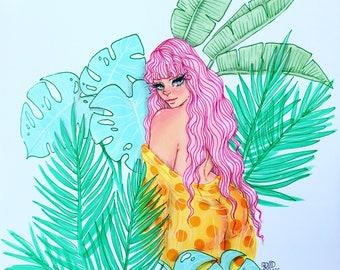 Single Jada Plant Babe Prints