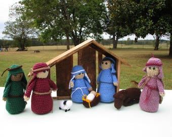Nativity Set - Large