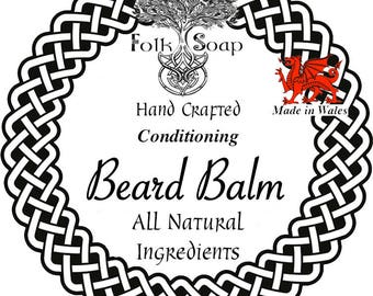 All Natural Conditioning Beard Balm