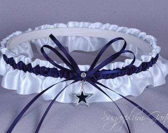 Dallas Cowboys Wedding Garter - Ready to Ship