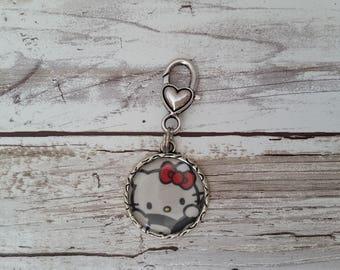 little e clip fob. Peek a bow. Tokidoki key fob. necklace charm
