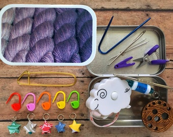 Knitter's Tool Tins