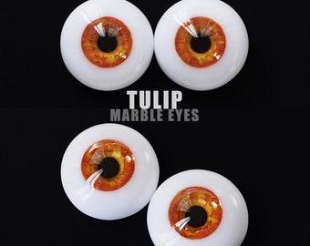 Marble Eyes Tulip 18mm [IN-STOCK] Enchanted Doll Eyes