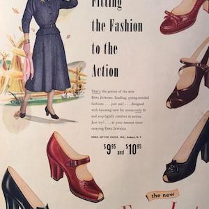 Shoe Ad, Enna Jetticks Ad, Ladies Shoe Ad, High Heels, Foot Fashions