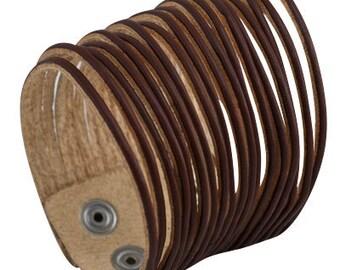 Wrap Bracelet | Bracelet | Cuff Bracelet | Leather Bracelet | Leather Jewelry | Bracelet for Men | Leather Wristband | Bracelet Men