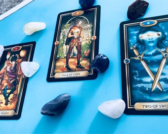 3 Card Tarot Reading. Spiritual Guidance. Spiritual Healing