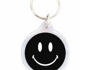 Black Smil Keychain - Keychain