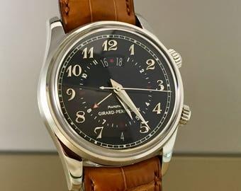 Fantastic GIRARD PERREGAUX Traveller II Time zone GMT-alarm automatic Watch