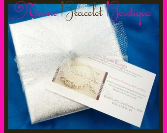 Gift Wrapping for Name Bracelet Boutique Order