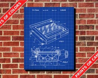 Sandwich Toaster Patent Print, Kitchen Wall Art Poster, Kitchen Print, Kitchen Art, Cafe Art, Kitchen Gadget Blueprint, Kitchen Decor