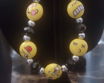 Fun Emoji Bracelet
