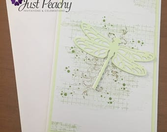 Dragonfly Green Card