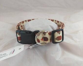 Adjustable Dog Collar, Cat Collar, Personalized Collar, Small Dog Collar, Funky Collar, Hedgehog Collar, Collier de chien, collar de perro