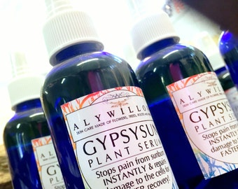 GypsySun Medicinal Plant Serum || Cellular Regeneration || INSTANT Sunburn Relief || Made Completely of Plants