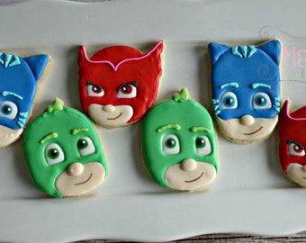 PJ Masks Cookie-Pj Masks Birthday Cookies