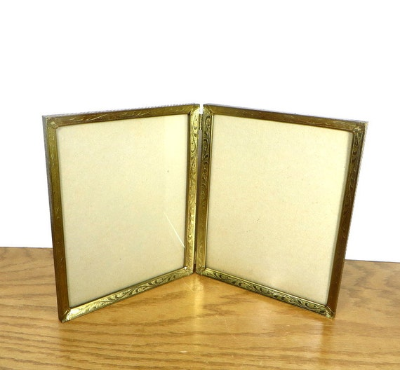 Retro Metal Photo Frame Double 8 X 10 Inch Photo Frame
