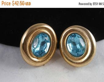 ON SALE Vintage Givenchy Earrings, Vintage Statement Earrings, Designer Signed Jewelry, Couture Vintage Jewelry