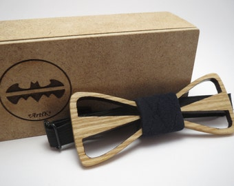 Wood Bow Tie / Breathing / Mens Accessories / Mens necktie / 100% hand made / Best personal gift