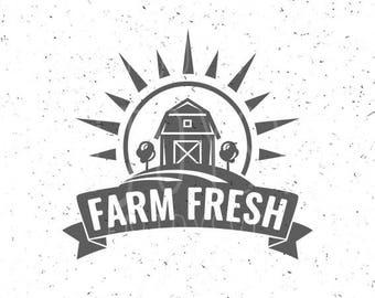 Farm svg Farm Fresh svg Farm SVG file Farm Fresh svg file Farm SVG File Fresh from the Farm svg Farmer file Farm cut file Farming svg