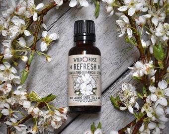 Face Serum Stimulating REFRESH with Jasmine & Peppermint - 30ml // 1oz Spring