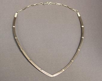 Sterling Silver Neck Collar