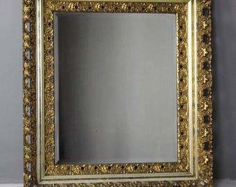 Large Ornate Gilt Mirror