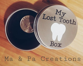 My Lost Tooth Box