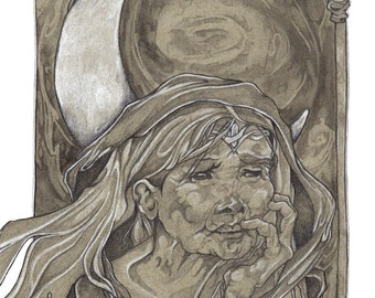 Crone LIMITED EDITION PRINT