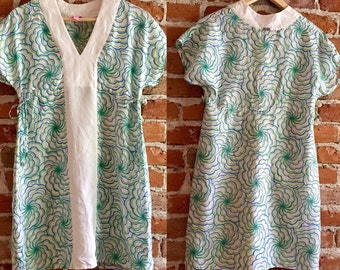 Women's Vintage Lilly Pulitzer Silk Shift Dress, XS