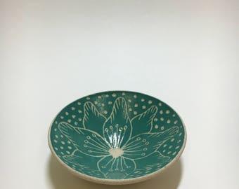 Handmade Ceramic Trinket Bowl