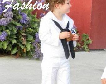 Toddler boys sailor suit