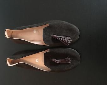 Moroccan Handmade Women's Suede Loafers
