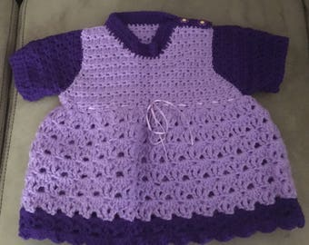handcrafted vintage pattern baby dress