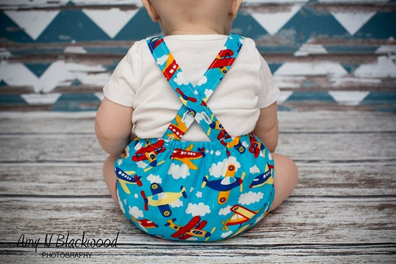 Baby Romper Pattern PDF Baby Boy or Girl Sunsuit Sewing