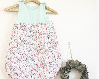 TO order - baby girl sleeping bag - Liberty fabric