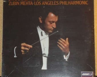 Stravinsky Petrushka Circus Polka Zubin Mehta Sealed Vinyl Classical record Album