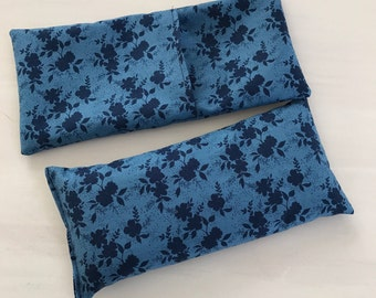 Removable Eye Pillow Cover, Aromatherapy cover, washable, Cover Only